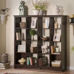 Shop a great selection of Bush Furniture Buena Vista 16 Cube Large Bookshelf in, Madison Cherry. Find new offer and Similar products for Bush Furniture Buena Vista 16 Cube Large Bookshelf in, Madison Cherry. Large Bookshelves, Cube Bookcase, Modern Bookcase, Bookcase Storage, Cube Storage, Office Storage, Storage Organization, Rustic Bookshelf, Storage Ideas