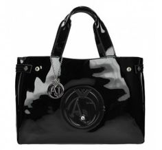Handtasche in Schwarz Marken Outlet, Armani Jeans, Diaper Bag, Bags, Fashion, Beauty Products, Handbags, Black, Moda