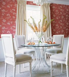 Thibaut's Waterlily wallpaper. Available at the DD Building suite 615 #ddbny #thibaut
