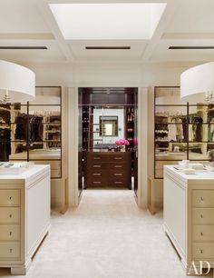 His & her closet