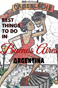 Buenos Aires is one of the most amazing cities in the world. While it gets a lot of hype, it lives up to it! Here are the top things to do in Buenos Aires. #buenosaires #argentina #southamerica #thingstodobuenosaires #thingstodoargentina