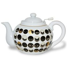 Cat tea pot! Yes, I want one!