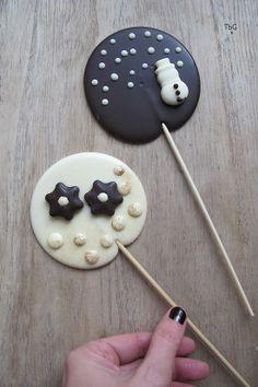 To be Gourmet: Piruletas de chocolate para fiestas y eventos.