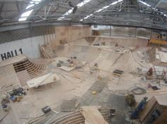 Hall One by unit 23 skatepark. Timelapse of the Hall One Build.