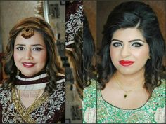 Makeup by Naila tausif Party Makeup, Most Beautiful, Hair Styles, Beauty, Women, Hair Plait Styles, Festival Makeup, Hair Makeup, Hairdos