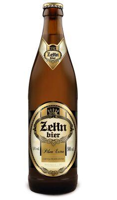 Cerveja Zehn Bier Pilsen Extra, estilo Premium American Lager, produzida por…