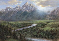Snake River Lookout: Jon McNaughton
