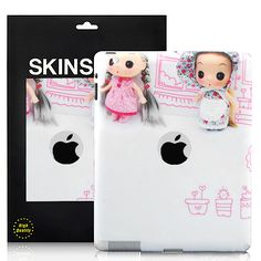 Cute Dolls Pattern The new iPad/iPad 2 Back Cover Sticker Skin - White  PriceUS $5.68 Apple Ipad Accessories, White P, New Ipad, Cute Dolls, Doll Patterns, Ipad Case, Snoopy, Stickers, Cover
