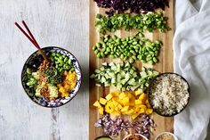 Deconstructed Sushi Bowl with Sweet Sesame Dressing | Pick Up Limes | Nourish the Cells & the Soul