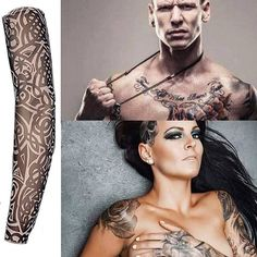 Items similar to Fake Tattoo Sleeves Nylon Elastic on Etsy Fake Tattoo Sleeves, Temporary Tattoo Sleeves, Sleeve Tattoos, Fake Tattoos, Girl Tattoos, Pretty Tattoos, Create Your Own Tattoo, Most Popular Image, Arm Art