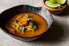 Spicy chicken soup from Food52