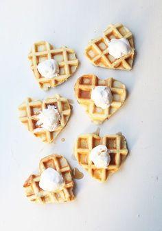 Heart Waffles!