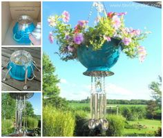 Planter Wind Chime