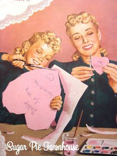 I remember making out valentine cards for my classroom. It was very important not to miss anyone!