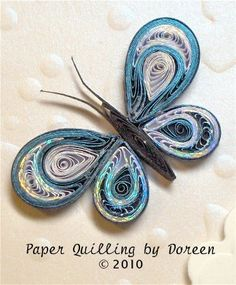 Creative Paper Quilling by Doreen: August 2010
