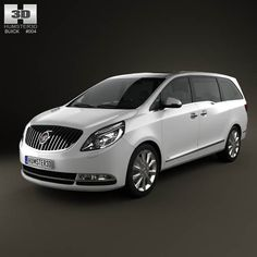 Buick GL8 2011 3d model from humster3d.com. Price: $75