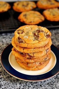 New York Times Chocolate Chip Cookies from Gastronomyblog