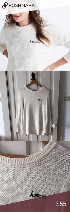 Madewell Embroidered Backroad Button-Back Sweater Madewell Embroidered Backroad Button-Back Sweater. Size Small. In excellent, pre-owned condition. Worn once. Madewell Sweaters Crew & Scoop Necks
