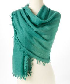 Add a splash of charm to your ensemble while keeping chilly gusts at bay. This scarf is made from fine cashmere for luxurious comfort. Hippy Fashion, Cashmere Scarf, Emerald, Husband, Emeralds, Gems