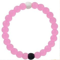 PINK Size Medium - HOT! Authentic! New Lokai brand Bracelet - Mt. Everest/Dead Sea Balanced Life Fashion Accessory
