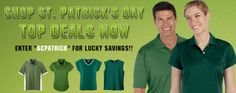 Special offer on #St.#Patrick's #Day at Athleticlothing.com. Use Coupon code and get discount.
