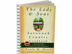 Savannah Country Cookbook by Paula Deen