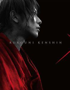 Rurouni Kenshin live action, Takeru Satoh as Kenshin Himura.