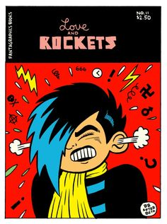 Box Brown e Love and Rockets: Philly meets Los Angeles!