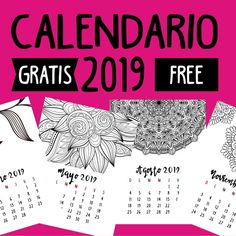 Calendario 2019 Baby Shawer, Bullet Journal Inspiration, School Supplies, Free Printables, Cards Against Humanity, Scrapbook, Planners, Showers, Amazing Crafts