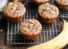 You would never guess that these Paleo Banana Nut Muffinshave no added sugar - all the sweetness comes from bananas! They make a great breakfast or snack.