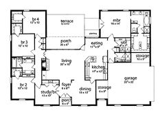 single story pinoy house plan floor area 90 square meters | single