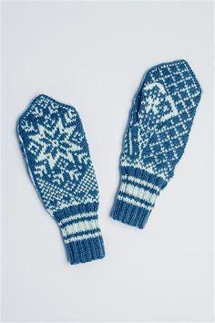 Tema 42: Modell 28 Votter #strikk #knit