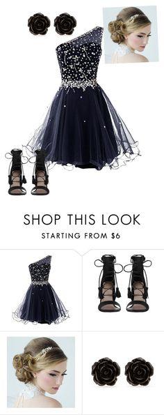"""Dresstells Dress 1"" by stilinskiismybatman ❤ liked on Polyvore featuring Zimmermann and Erica Lyons"