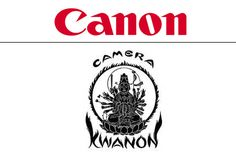 """Precision Optical Instruments Laboratory, the parent company of Canon, manufactured a new camera in 1933, and named it """"Kwanon"""", after the Buddhist god of mercy. The original logo depicts the image of Kwanon with about one thousand arms and flames. The company came up with the name """"Canon"""" in 1935 after its wide and impressive international success"""