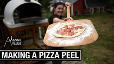 Let's join Anne of All Trades​ and her How to Make a Pizza Peel If you have a pizza oven, you gotta have a pizza peel! Cool project, and sorry if it promotes a real serious need for pizza! (I know what I'm having for lunch today!
