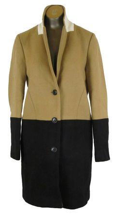 Madewell Colorblock Streetcar Coat in Faded Driftwood Size 2 jacket wool $298 #Madewell #BasicCoat