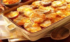 We say scalloped potatoes with our delicious Sargento® Fancy Shredded Colby-Jack Cheese. And everyone will say red potatoes have never tasted better. Enjoy them with any meal. Cheese Scalloped Potatoes, Cheese Potatoes, Scallop Potatoes, Food Network Recipes, Food Processor Recipes, Cooking Recipes, Cooking Time, Greek Recipes, Xmas Recipes