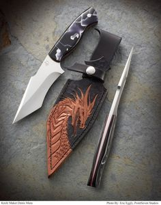 Denis Mura Adventure Gear, Cold Steel, Custom Knives, Knives And Swords, Blade, Tools, Knifes, Leather, Weapons