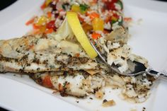 Parmesan Tilapia #SANE http://SANESolution.com