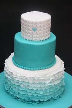 How to make easy Ombre Cakes...techniques using buttercream, Fondant & more