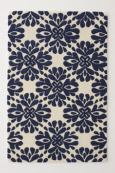 Coqo Floral Rug #anthropologie  I want this rug for my living room.