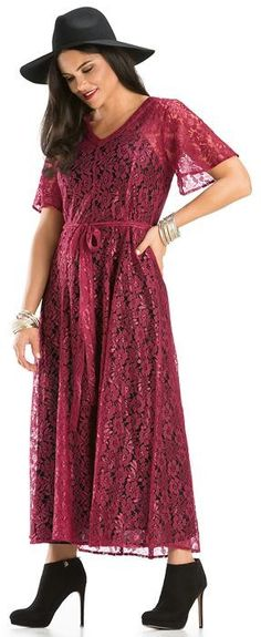 Light, Romantic & Flowing! Rayon/Nylon Floral Net dress with waist enhancing sash.