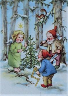 Victorian Christmas, Vintage Christmas Cards, Beil, Hallmark Cards, Christmas Angels, Xmas, Vintage Postcards, Illustration, Painting