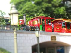Main-street Disneyland Train ride.