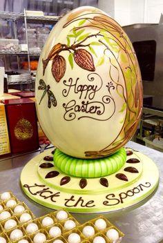 Centrepiece ArtNouvO Easter egg for Gloucester services