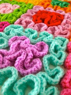 squiggle crochet | sarah london textiles | Flickr