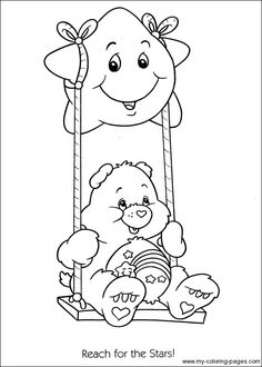 Care Bears Wish Bear Coloring Page