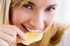 How To Make Potato Chips In The Microwave - http://www.wholesomehealthtips.com/how-to-make-potato-chips-in-the-microwave/ #health #diet #fitness #LoseWeight #workout #happiness