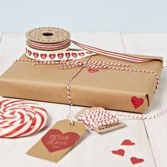 valentines wrapping paper set by sophia victoria joy etc | notonthehighstreet.com