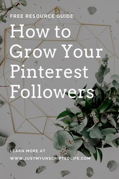 Having a good social media following can boost your blogging business. Click here to get a FREE resource guide and start growing your own Pinterest following #bloggingtips #pinterestmarketing